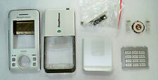white Housing fascia facia cover case faceplate for Sony Ericsson s500i
