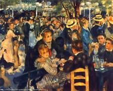 Renoir: Bal du Moulin de la Galette - 8x10 In. Art Print Repro.