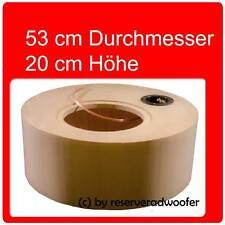 """Reserveradgehäuse für 25cm / 10"""" Woofer, Größe L mit 31 Liter Volumen"""