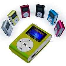 Reproductor Lector MP3 Player Clip USB LCD Screen FM Radio Micro SD hasta 32GB