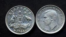 AUSTRALIA 6 Pence 1942 S AG