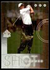 2001 SP Authentic Shotmakers Tiger Woods #S1