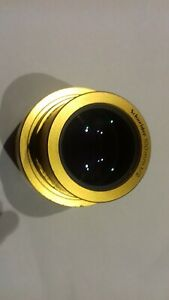 SCHNEIDER OPTIC 100mm F/2 Cine Projection Lens FOR 35/70mm MOVIE PROJECTORS