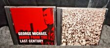 George Michael Songs From The Last Century & Listen Without Prejudice Vol 1 CDs