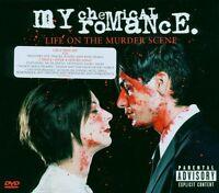 MY CHEMICAL...- LIFE ON THE MURDER SCENE CD + 2 DVD NEW+