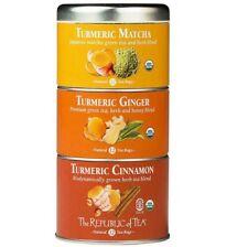 The Republic of tea turmeric matcha ginger and cinnamon 36 tbags green tea