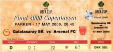 reproduction 2000 GALATASARAY ARSENAL uefa cup final PERSONALISED ticket