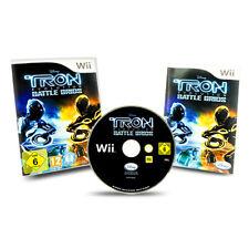 Nintendo Wii Spiel Tron Evolution Battle Grids in OVP mit Anleitung