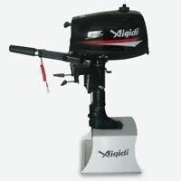 7 HP 2 Stroke Outboard Motor Tiller Shaft Boat Engine Water Cooling  System SALE