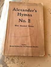 Alexander's him's No. 2 with standard hymns