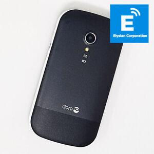 Doro 2404 2G - Dual Sim Flip Mobile Phone - Black - Unlocked - No Battery