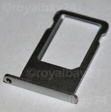 iPhone 6s ALU nano SIM Halter Silber Schacht card holder Schlitten slot tray NEU