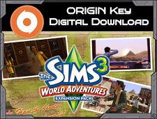 THE SIMS 3: mondo Avventure pacchetto di Espansione PC/MAC di Origine Chiave Consegna veloce * *
