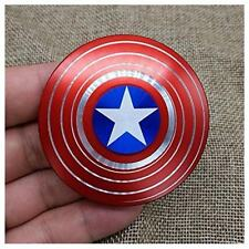 UNIQUE Captain America Shield Fidget Hand Spinner EDC Focus For Kids ADHD Autism