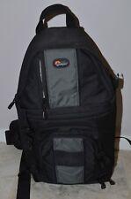 Lowepro SlingShot 100 AW All-Weather Digital Camera Backpack Black Shoulder Easy