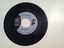 RARE SOUL- THE CRYSTALS - HE'S A REBEL - 45 RPM - (ORIGINAL)   VG / VG+