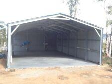 Hanger Shed 8inch C Section Purlin Bracket Set-Garage-Farm-Steel Plate Plane
