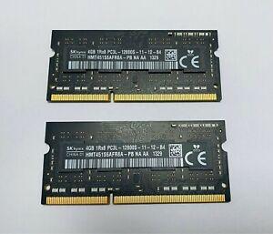 Hynix 8Gb (4Gb X 2) DDR3-1600 PC3L-12800S SODIMM RAM for Apple iMac