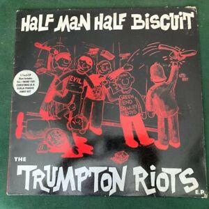 Half Man Half Biscuit Trumpton Riots vinyl EP