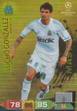 LUCHO GONZALEZ MASTERS MARSEILLE OM CARD ADRENALYN CHAMPIONS LEAGUE 2012 PANINI