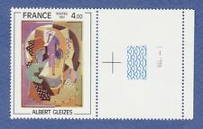 V6*Timbre (Neuf**MNH TBE+ Marge) 1981 (n°2137 - GLEIZES-)