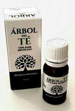 Aceite de arbol de Te. 100% Pure Organic TEA TREE Essential Oil 10ml