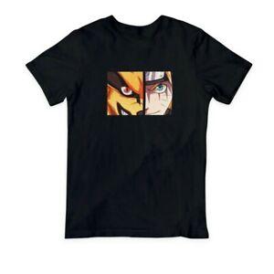 Naruto Kurama Graphic Tee Anime T-Shirt (Large)