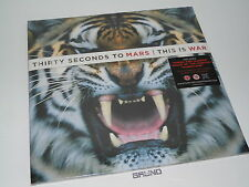2 LP+CD: 30 Seconds To Mars – This Is War, NEU & OVP (A8/4)