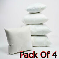 Pack of 4 Extra Deep Filed All Sizes Cushion Pads Inserts Fillers Scatters