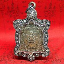 Phra Sangkachai Buddha Amulet Small Case Pendant Thai Monk Protect Talisman