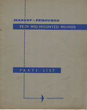 P Zcm164 Mower Parts Book Tractor Manuals & Publications