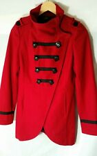 🔥Tokito 8 10 Coat Red/ Black Military Jacket Wool Casual Double Breasted (#2)