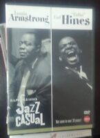 Louis Armstrong & Earl Hines Jazz Casual DVD