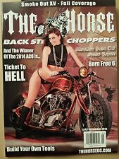 The Horse Ticket to Hell Jessie Srpan Build Your Tools Sept 2014 FREE SHIPPING