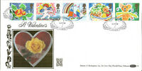22 Carat Gold Benham Official First Day Cover 1989 Saint Valentines G030