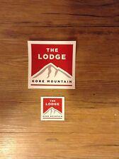 Gore Mountain Lodge Stickers...