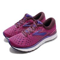 Brooks Transcend 6 Aster Fig Purple Women Running Shoes Sneakers 120287 1B
