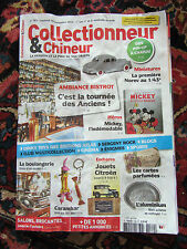 COLLECTIONNEUR CHINEUR N°182 sept 2014 mickey, carambar, ambiance bistrot