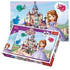 Trefl 100 Piece Kids Girls Disney Sofia The First Princess Queen Jigsaw Puzzle