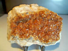 MINÉRAUX.  VANADINITE (2).  Kabwe, ZAMBIE.  Géologie, lithothérapie, minéralogie