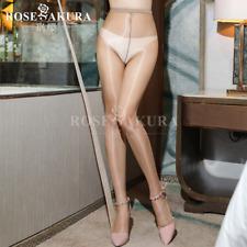 1D T-shaped Crotch Sheer Pantyhose High Waist Nylon Tights Stockings