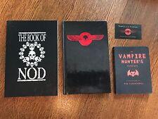 The Book Of Nod, Vampire Bible, Vampire Hunter Manual