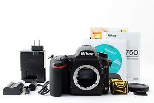 "Nikon D750 24.3 MP Digital SLR Camera Black Body Only""Near Mint"" From Japan"