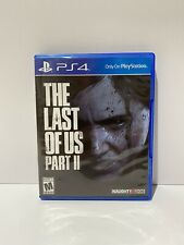 The Last of Us Part II 2 Ps4 (Sony PlayStation 4)