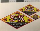 S-K The Sherman-Klove Co. Decals for restoration of tool boxes 1930's 1940's