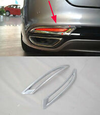Rear Tail Fog Light Lamp Cover Trim For 2013 2014+ Ford Mondeo Fusion ABS