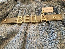 BRAND NEW Cement BCBGeneration Large Affirmation Bracelet BELLA