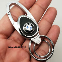 BMW Key Ring Key Chain Car Key Holder 1,3,5,6,7, X, F, Z series