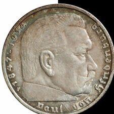 1936 Germany 5 Mark