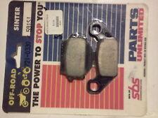 RM250   91-92  /  RM125  93  REAR   SINTERED   BRAKE  PADS    GN250   FRT  91-97
